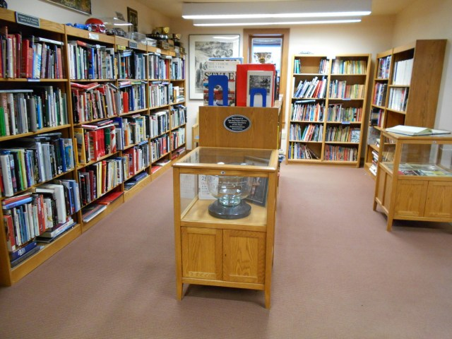 The International Motor Racing Research Center in Watkins Glen, N.Y., houses a collection books, periodicals, films and videos and programs for research purposes.