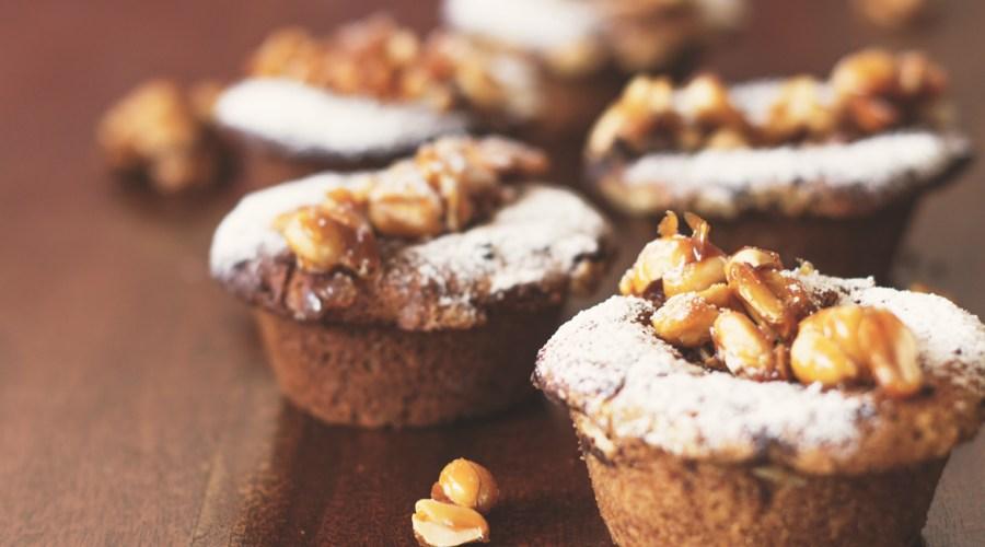 Unser Peanut Butter/Schoko-Nuss Muffins!