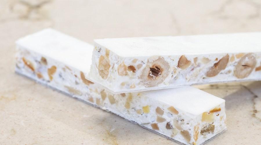 Nougat Montelimar – türkischer Honig selbst gemacht