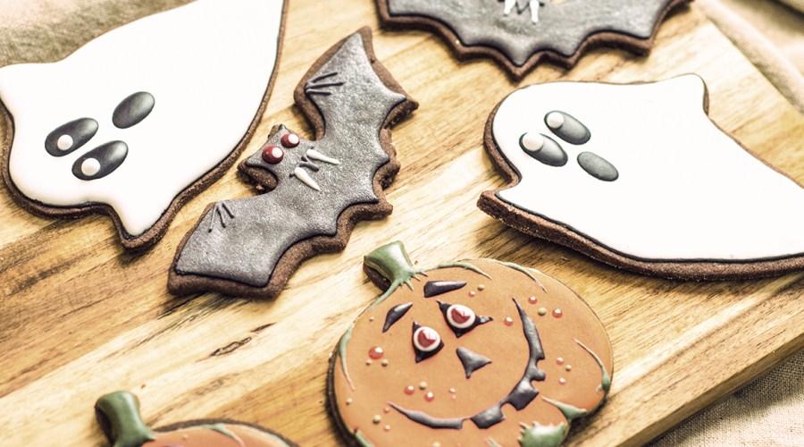 Gruselige Halloween Cookies