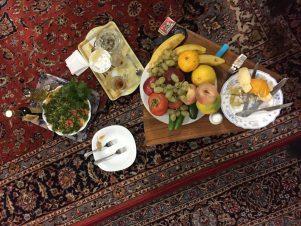 Kashan-Gastfreundschaft