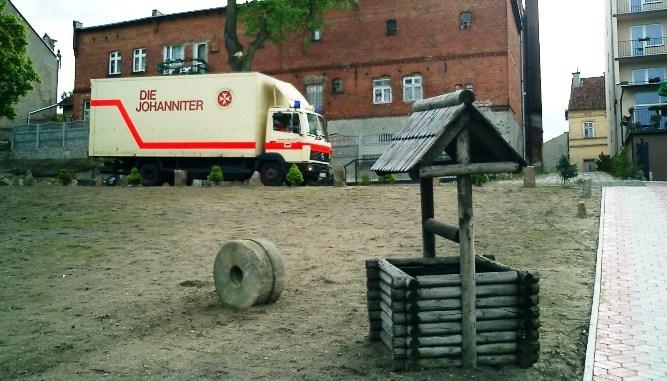 Johanniter-LKW in Masuren/Polen