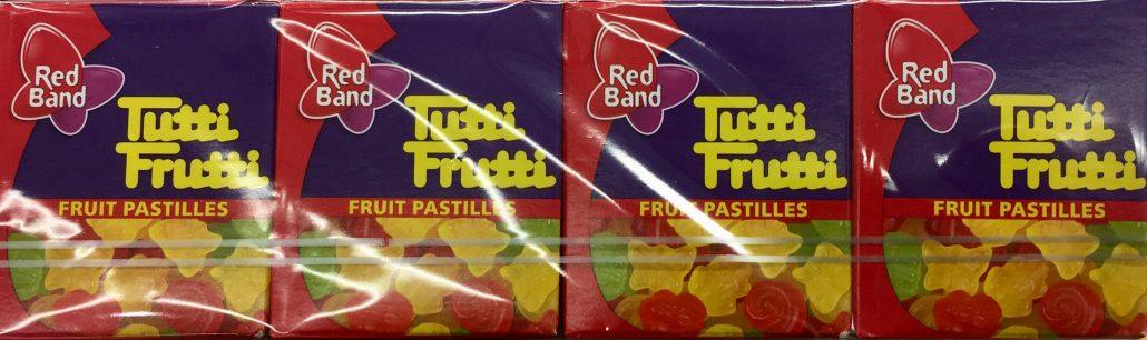 Red Band Tutti Frutti