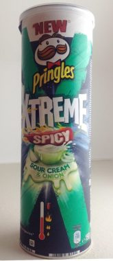 Pringles Xtreme Spicy Sour Creme + Onion