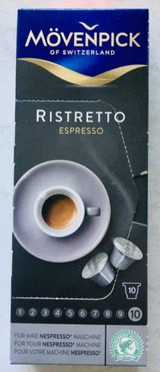 Mövenpick Ristretto Espresso 10 Nespresso-Kapseln
