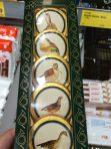 Hofer Schokoladentaler Vogelmotive