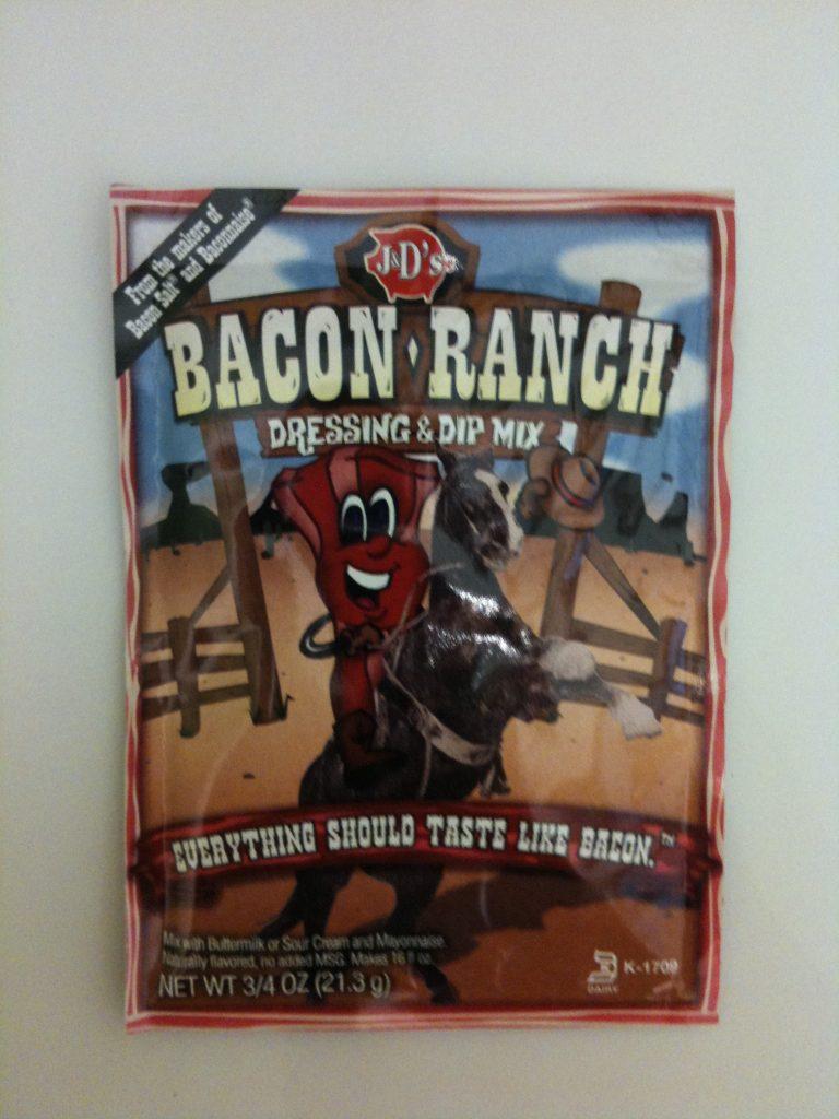 Bacon Ranch Salatcreme-Pulver in der Tüte
