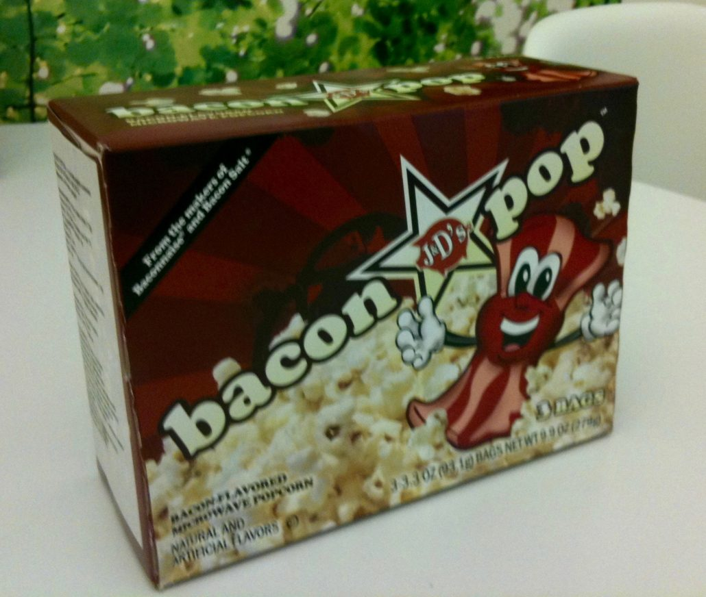Mikrowellen-Popcorn Bacon