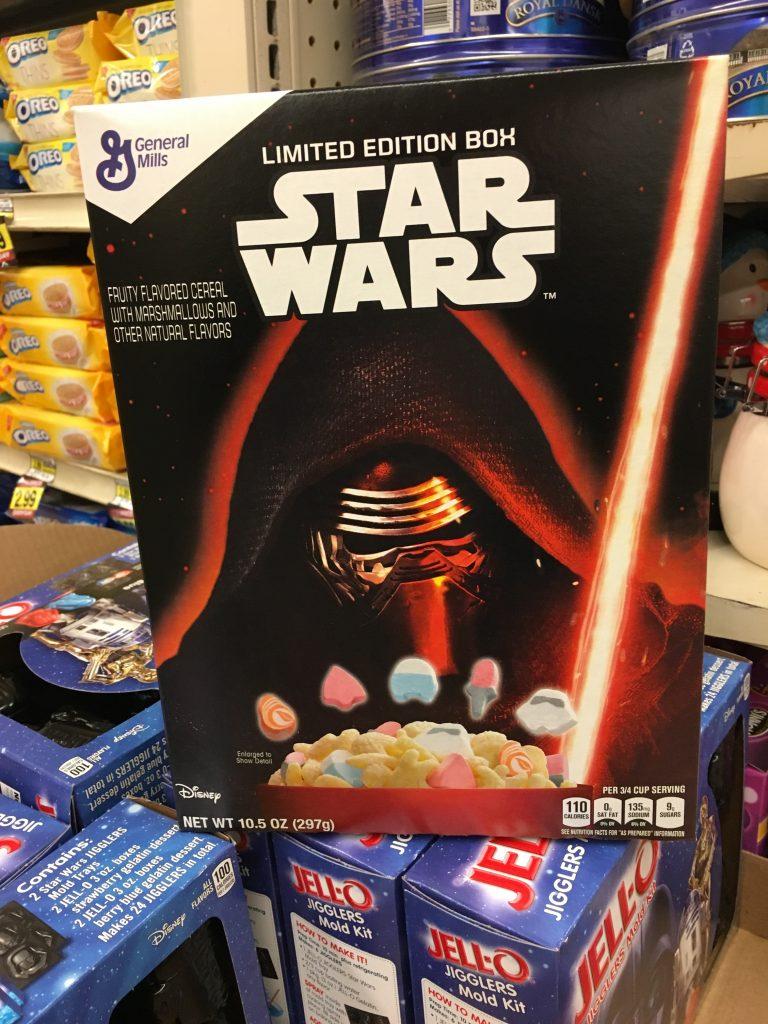 Disney Star Wars Cereals
