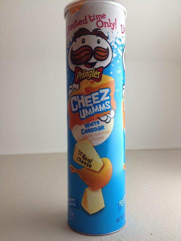 Pringles Cheezummms White Cheddar