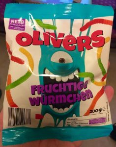 Olivers Fruchtige Würmchen