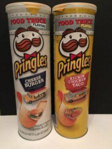 Pringles Serie Food Truck mit Cheese Burger und Chicken Tacos