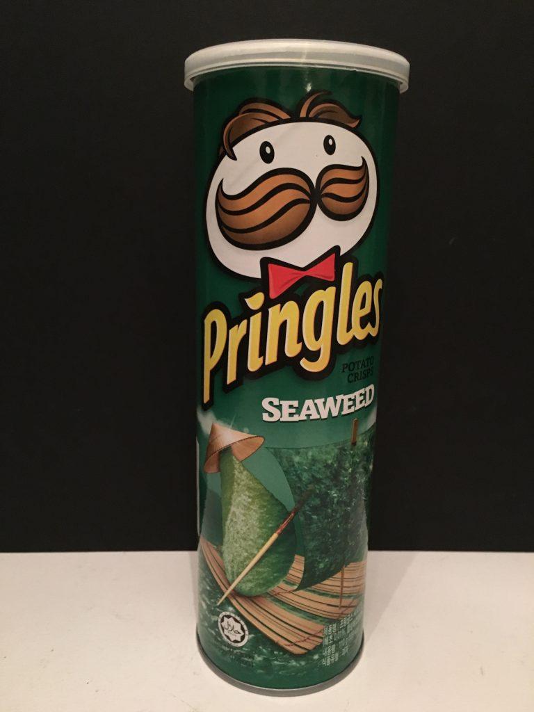 Pringles Seaweed aus Asien