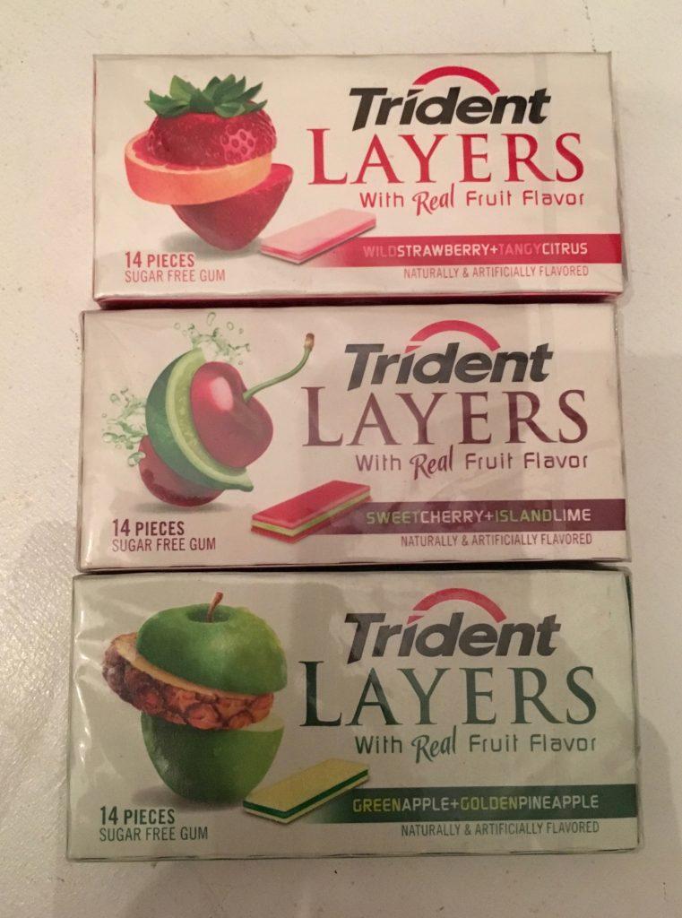 Trident Layers Kaugummi