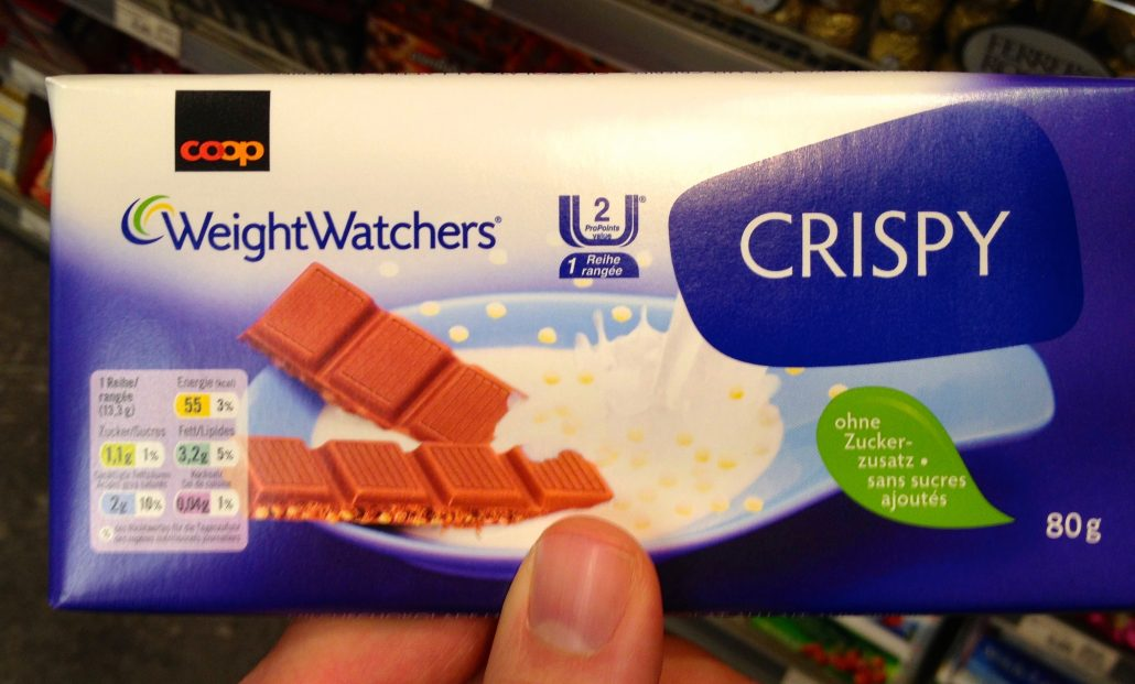 Weight Watchers Crisp Schokolade