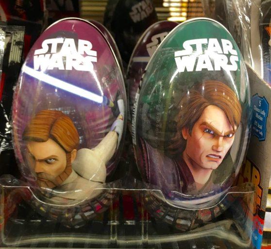 Star Wars Süßigkeiten im dekorativen Blechdosenei von DOK.