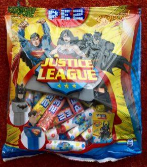 PEZ Justice League Beutel
