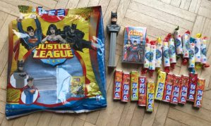PEZ Justice League Beutel