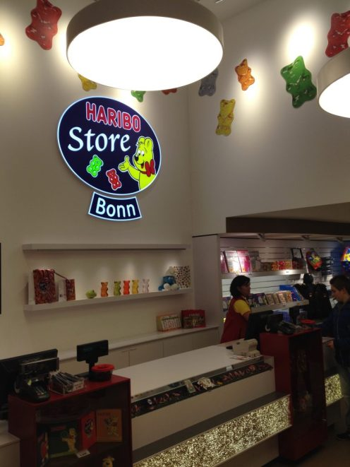 Haribo Store Innen Logo