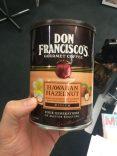 Don Fracisco's Kaffee Hawaian Hazelnut
