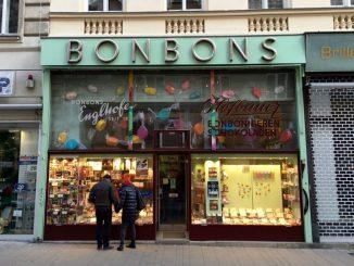 Wien Fachgeschäft Bonbons