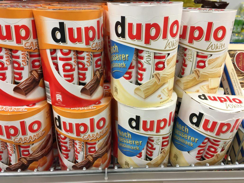 Ferrero Duplo Caramel und White / Weiße Schokolade