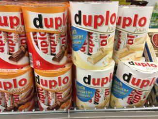 Ferrero Duplo Caramel und White / Weiße Schokolade Sondereditionen