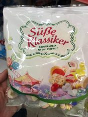 Jahrmarkt-Süßigkeiten Süße Klassiker Zuckerkomprimate