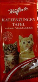 Küfferle Katzenzungen Tafel Vollmilch Österreich