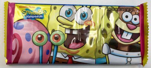 Spongebob Schwammkopf Schokolade mit Schokolinsen