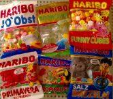Haribo Auswahl Fruchtgummi verschiedene Beutel
