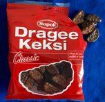 """Der berühmte Dragee Keksi von Napoli in der Classic-Ausführung mit dunkler und Vollmilch-Schokolade. """"Wenn ich nur aufhören könnt..."""" lautet der bekannte Werbespruch dazu."""