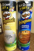 Pringles Pringoooals Cheesy Chesse Pommes + Ketchup