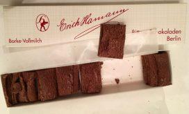 Borkenschokolade Hamann