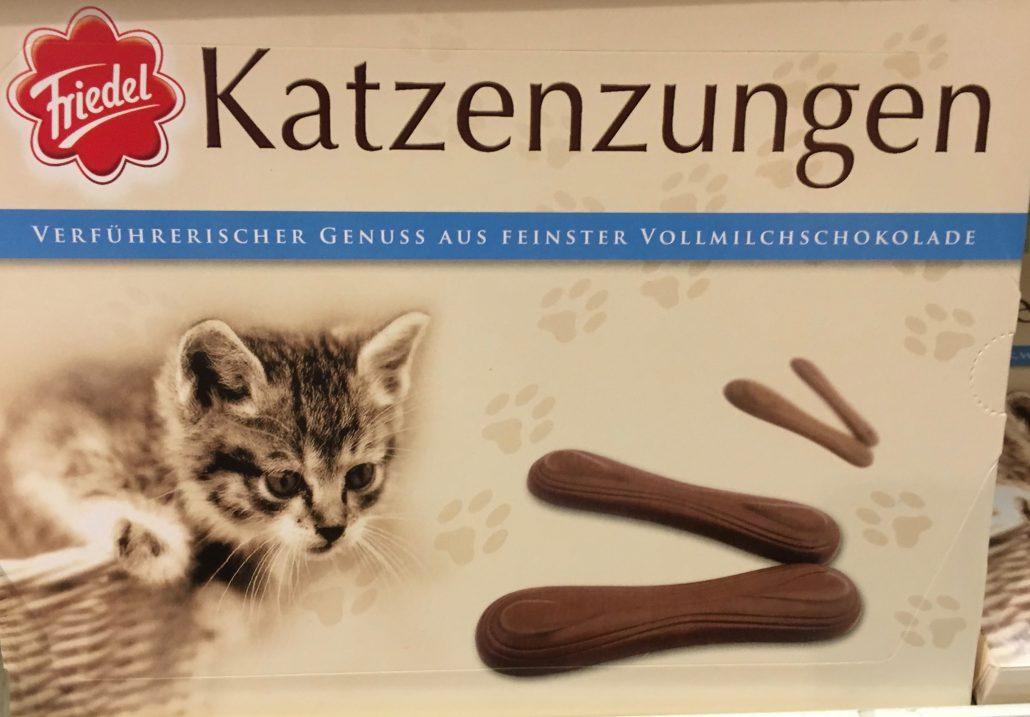 Friedel Katzenzungen Vollmilch