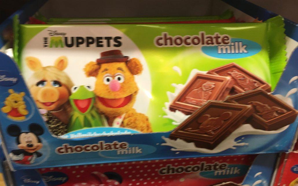 IFC Schokolade Lizenz Muppets