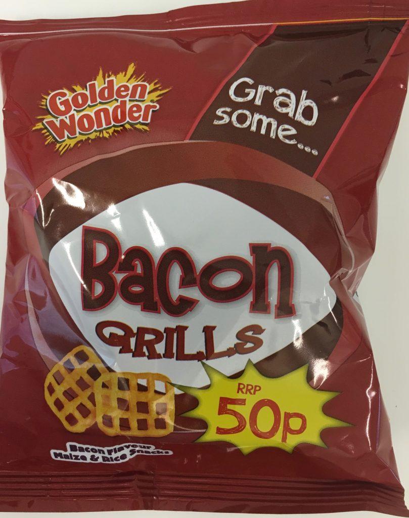 Golden Wonder Bacon Grills Gitter Chips