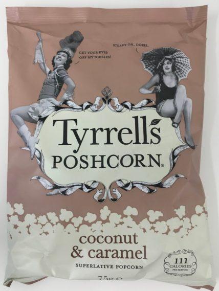 Tyrell's Poshcorn Coconut & caramel.