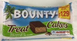 Bounty als Mini-Softkuchen.
