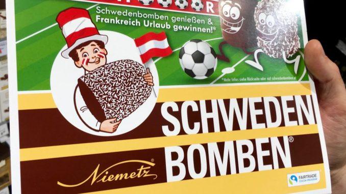 Niemetz Schwedenbomben Fußball-EM Schokoküsse