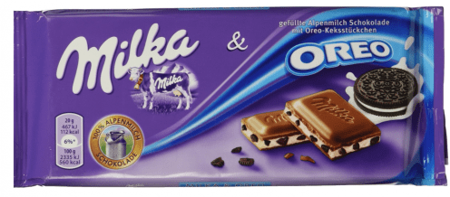 Milka Oreo Tafelschokolade