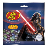 Jelly Belly Beans mit dem Star Wars Darth Vader Motiv.