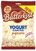 Butterkist Joghurt überzogenes Popcorn