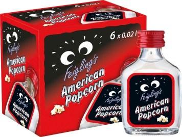 kleiner Feigling Shot Likör Popcorn Geschmack