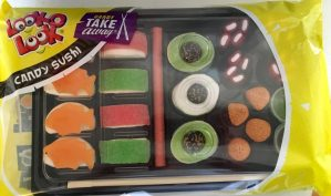 Look-O-Look Candy Sushi Take away Marshmallow Winegums