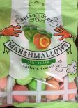 Bello Dolce Marshmallows Jelly Filled Apples + Peaches, gefunden bei Netto mit Hund