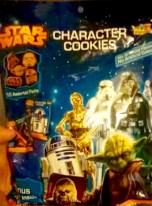 Wieder mal Kekse, dieses Mal in Form der Star Wars-Figuren.