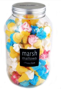 Bunte Marshmallow-Pilze von mellow mellow