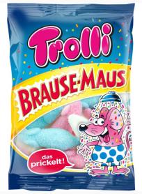 Brause-Maus mit sauren Marshmallows von Trolli.
