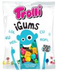 """Gummi: Ganz famose Idee wie ich finde: Buchstaben-Weingummi in einer Tüte mit einem Handy und durchsichtigem """"Display"""", dann noch der Name iGums - wirklich zeitgemäß und witzig."""